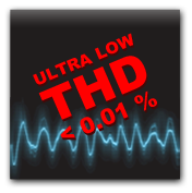 Picture of the Ultra Low THD of the DCAD