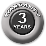 Picture of the 3 YEARS WARRANTY